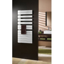 Roda Spa White Asymmetrical Towel Warmer 1183 x 550mm