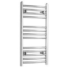 Curved Towel Rail 1500mm x 600mm Chrome