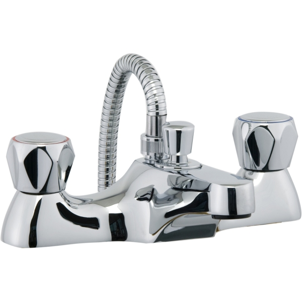 aura focus bath shower mixer inc hose and handset chrome classic bath shower mixer the sink warehouse bathroom