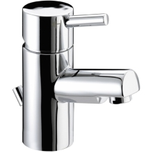 Bristan Prism Basin Mixer Tap 78mm x 134mm x 376mm with Pop-Up Waste Chrome
