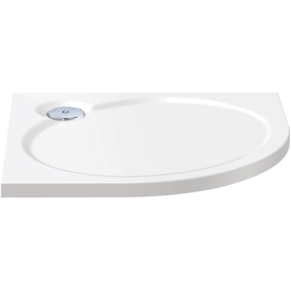 Coram coratech slimline quadrant shower tray 900mm white - Shallow shower tray ...