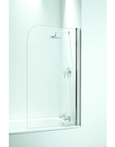 Coram Frameless Curved Screen Only White 800mm