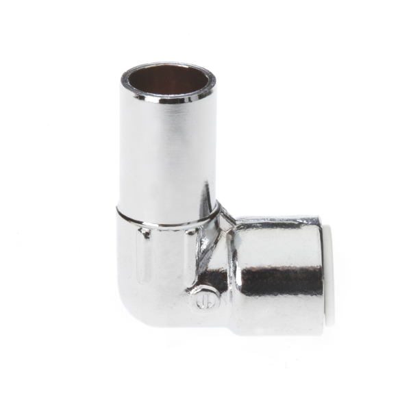 Drayton 15mm X 10mm Pushfit Elbow Chrome