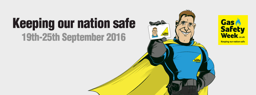 Gas Safety Week 2016: Fighting for a Gas Safe nation