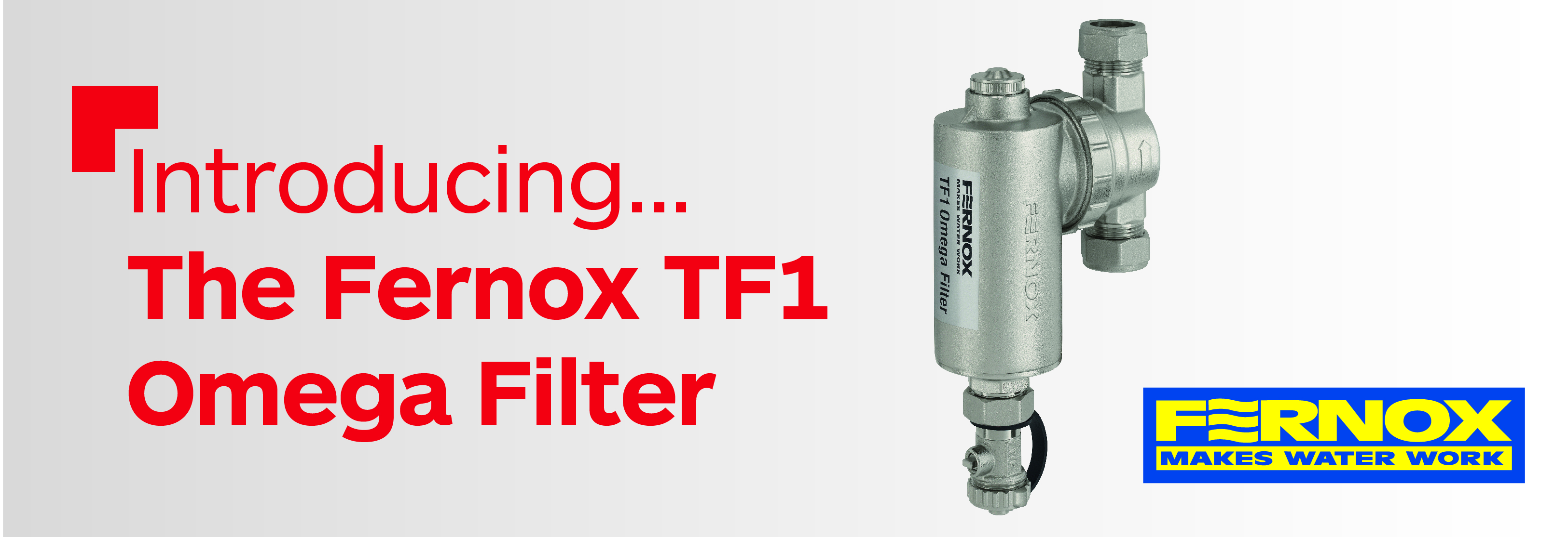 Coming soon: The Fernox TF1 Omega Filter