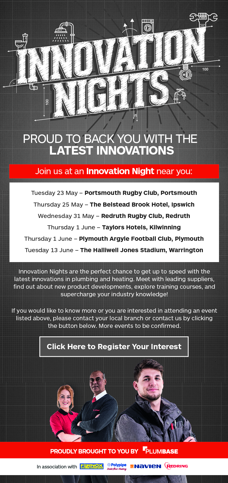 Innovation Nights are back! Check out the latest line up of events