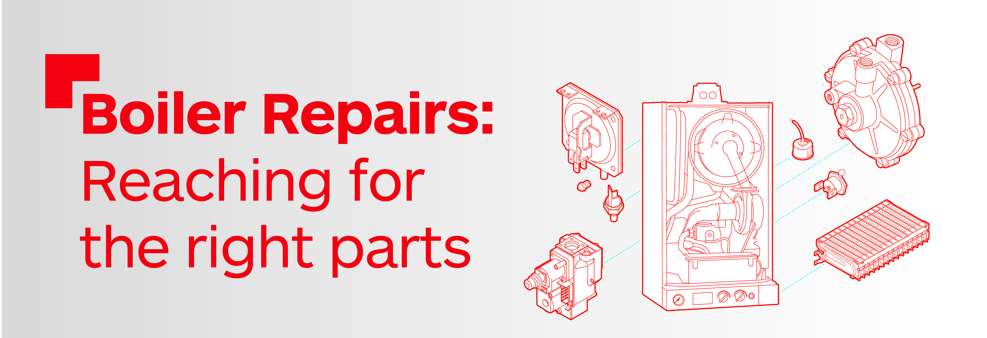 Boiler repairs: Reaching for the right parts