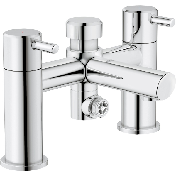Grohe concetto bath shower mixer chrome - Grohe concetto shower ...