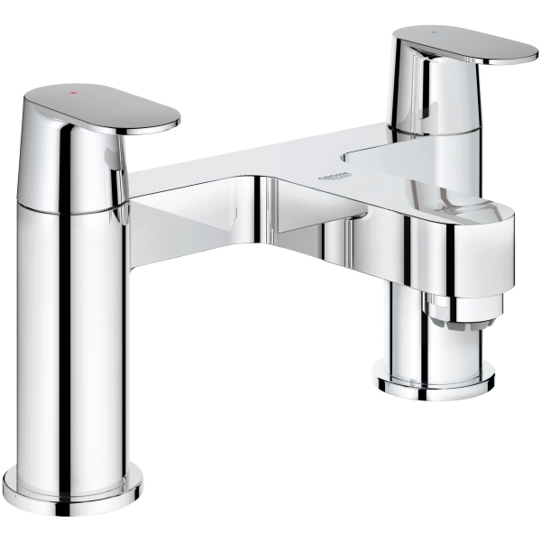 grohe eurosmart cosmo bath filler chrome