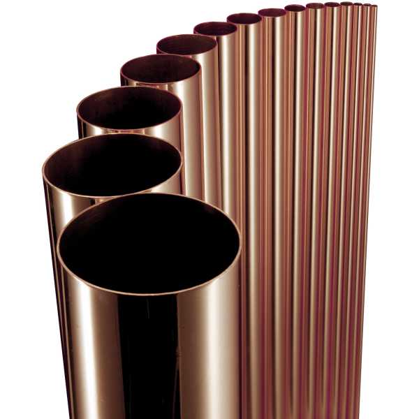 Halcor copper tube table 3m x 15mm for Table y copper