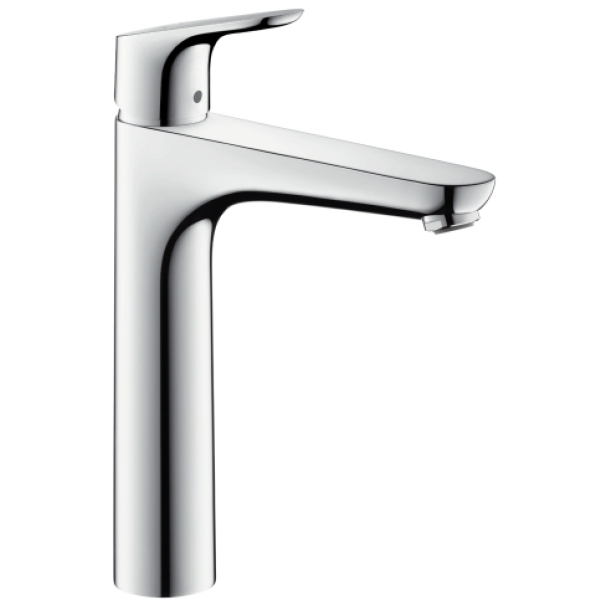 hansgrohe single lever basin mixer 190 without pull rod. Black Bedroom Furniture Sets. Home Design Ideas