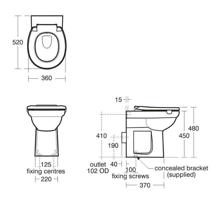 documents. Standard Toilet Height  Design Standard Toilet Dimensions