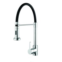 Liquorice Sink Mixer with Pull Out Spray