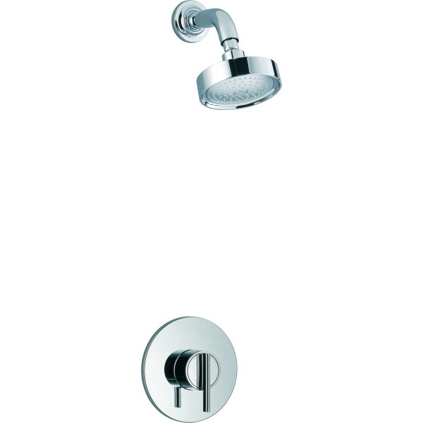 mira silver built in valve with fixed showerhead thermostatic mixer shower chrome. Black Bedroom Furniture Sets. Home Design Ideas