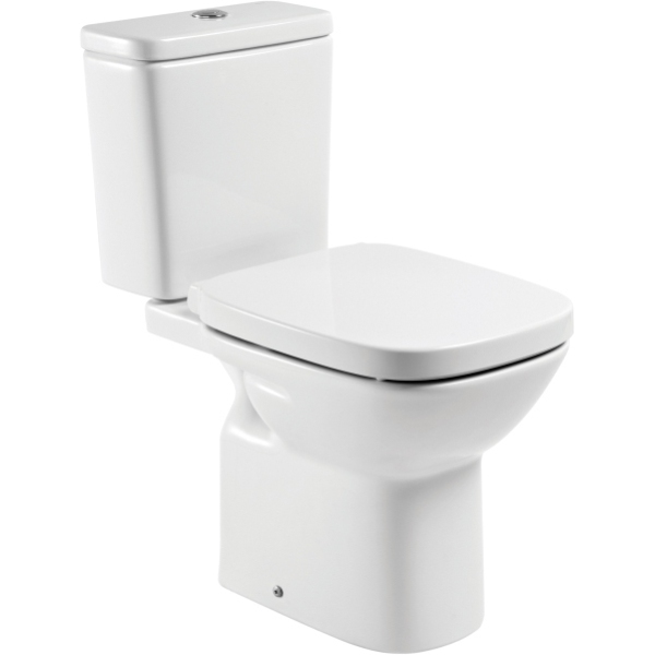 Roca Debba C C Pan With Soft Close Seat And Cistern