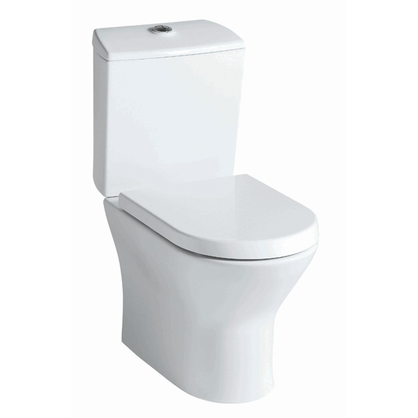 Roca nexo close coupled toilet pan open back white for Wc debba roca