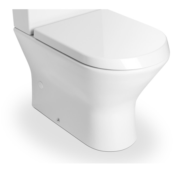 roca nexo compact close coupled toilet pan white. Black Bedroom Furniture Sets. Home Design Ideas