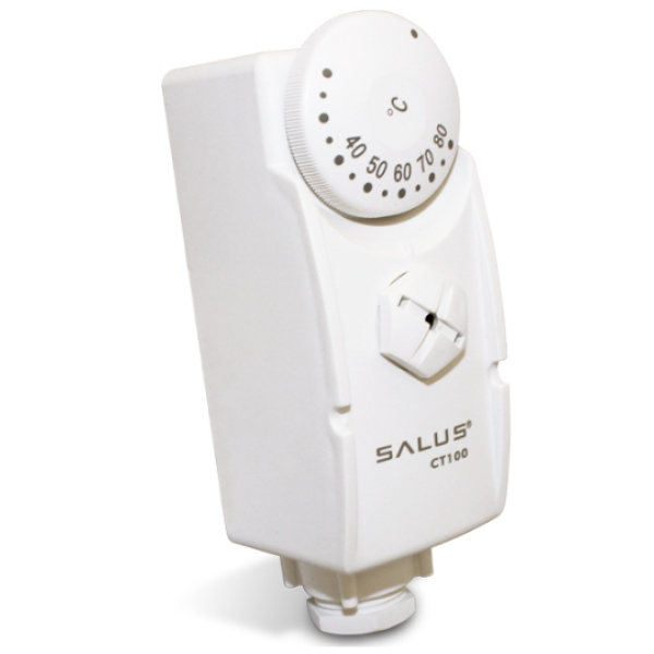 salus ct100 cylinder pipe thermostat