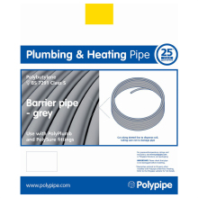 Polyplumb Coil Barrier Pipe 150 Metres x 15mm
