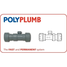 Polyplumb Double Check Valve Grey