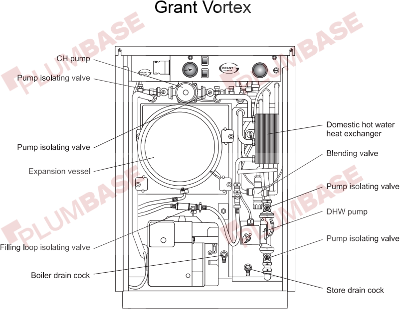 Grant vortex eco condensing wall hung exploded views and parts list diagram cheapraybanclubmaster Image collections