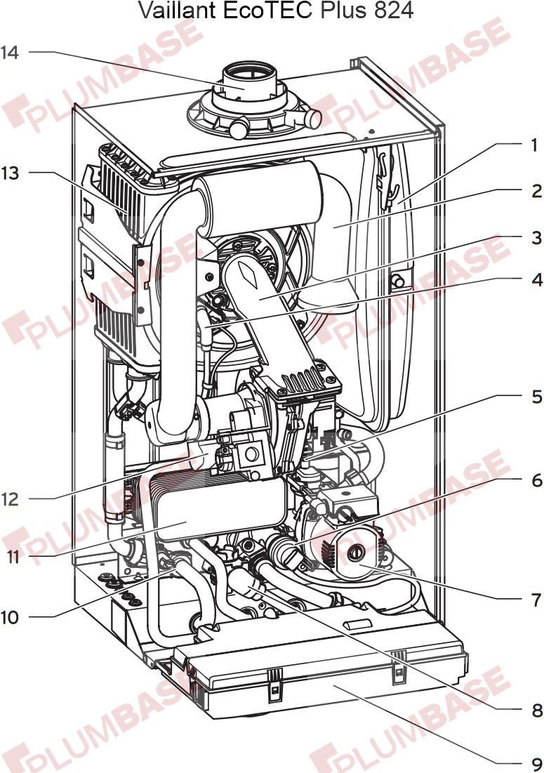 Vaillant ecotec plus 824 exploded views and parts list diagram cheapraybanclubmaster Image collections