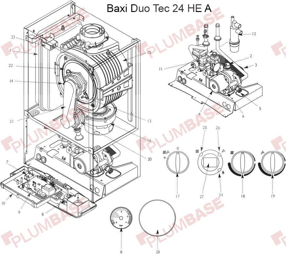 Baxi duo tec 24 he installation manual.