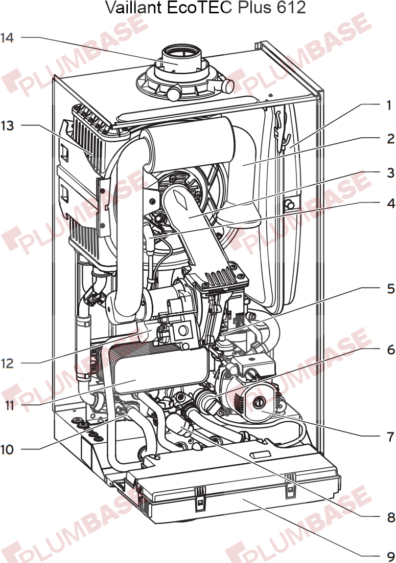 Vaillant ecotec plus 630 exploded views and parts list diagram asfbconference2016 Image collections