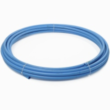 100m 25mm Blue MDPE BS6572 Poly Tube