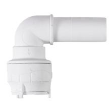 Polyfit Spigot Elbow White 10mm