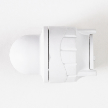 Polyfit Socket Blank End White 10mm