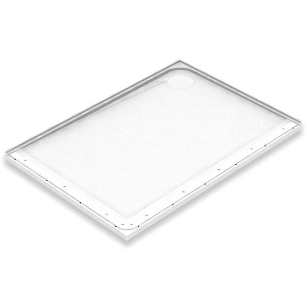 AKW Mullen Shower Tray 1200 x 700mm Mullen Shower Tray Right Hand