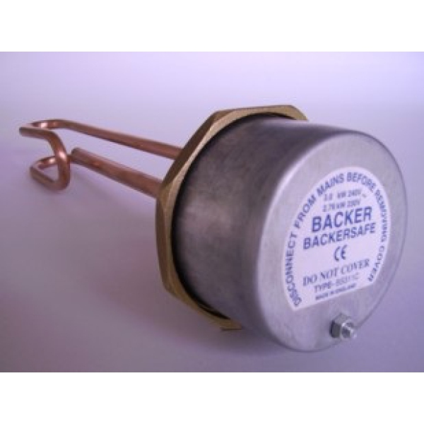 Backersafe Immersion Heater 14 inch
