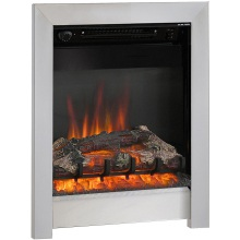 "Be Modern 16"" Athena Electric Inset Fire – Chrome"