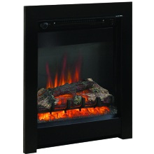 "Be Modern 16"" Athena Electric Inset Fire – Black"