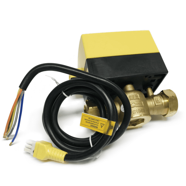 22mm 2 Port Motorised Valve V222D