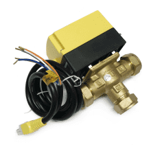 22mm 3 Port Motorised Valve b322pf
