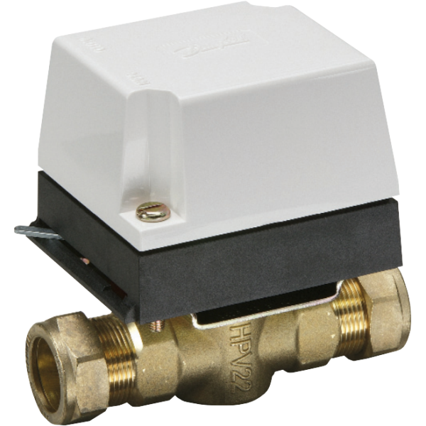 Danfoss 2 Port Valve includes Actuator HPA2 22mm HP22