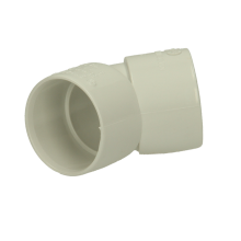 Polypipe Solvent Waste Obtuse Bend ABS 32mm x 45 Degrees White