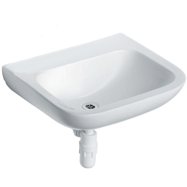 Armitage Shanks Portman 21 Basin No Overflow Or Chain Hole 400mm No Tapholes