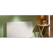 QRL Warmastyle Radiator White Single Convector 400mm x 600mm