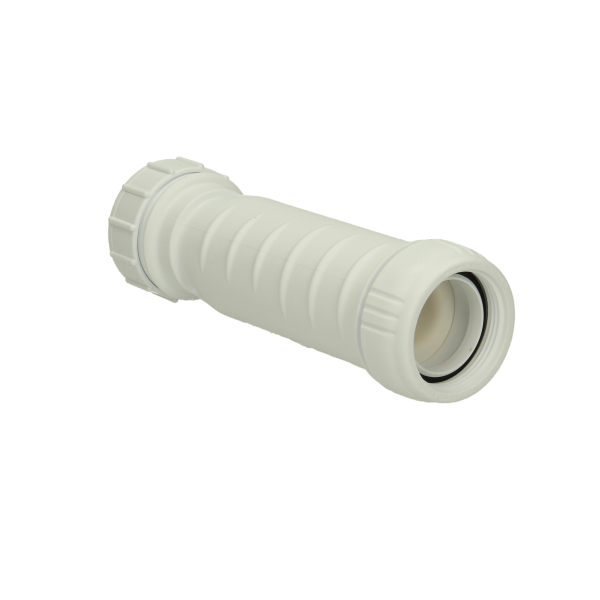 Hepvo Self Seal Waste Valve White 40mm