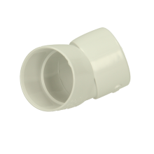 Polypipe Solvent Waste Obtuse Bend ABS 40mm x 45 Degrees White