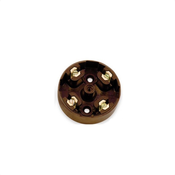 Nexus Junction Box Brown 4-Way 20A 57mm Diameter