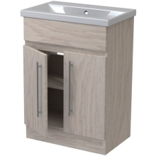 Atlanta Concepts Zest Floor Standing Vanity Unit 700mm Mali Oak/Mali Oak