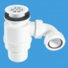 McAlpine 1.5 Shower Trap Water Seal with 70mm Flange 80mm