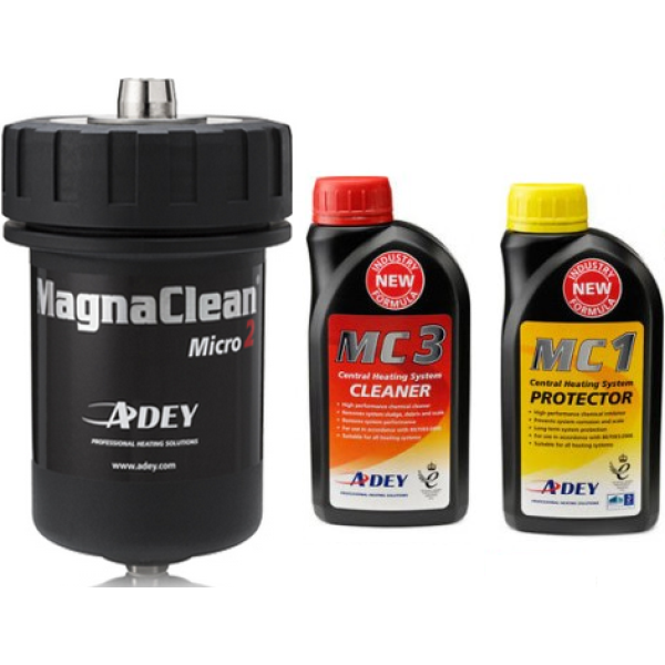 Adey MagnaClean Professional Micro 2 with Chemical Pack