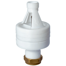 Advance 15mm x 22mm Hotun White Dry Trap Tundish