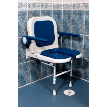 AKW W/M Fold Up Seat Padded Back & Arms