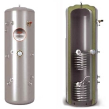 Albion Ultrasteel 210L Solar Unvented Indirect Cylinder AUSI210